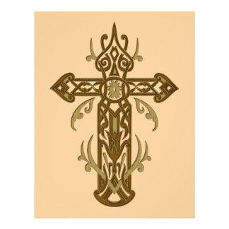 Christian Ornate Cross 70 Flyer Design