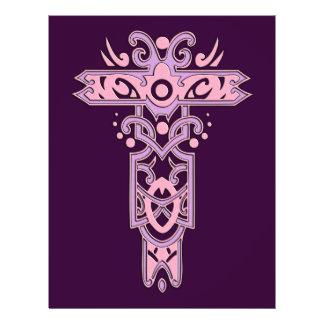 Christian Ornate Cross 7 21.5 Cm X 28 Cm Flyer