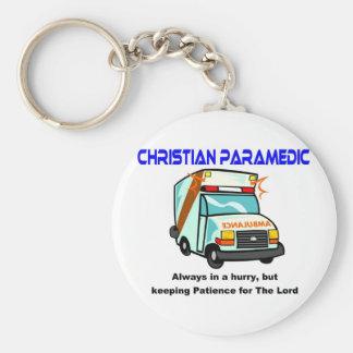 Christian Paramedic religious gift Keychain