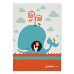 Christian Poster Bible Story Jonah And The Whale