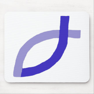 Christian Products - Blue Mouse Pads