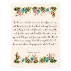 Christian Quote Art - Isaiah 55:10-11 Postcard