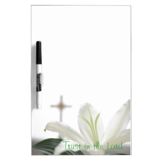 Christian Quote Dry Erase Board