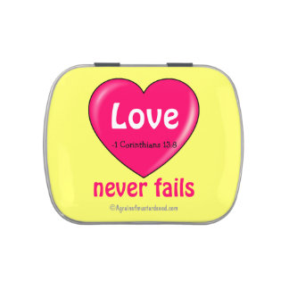 Christian Quotes Inspirational Jelly Belly Candy Tin