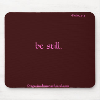 Christian Quotes Mouse Pad