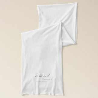 Christian Quotes Scarf