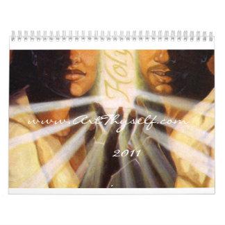 Christian Religious Art 2011 Wall Calendar
