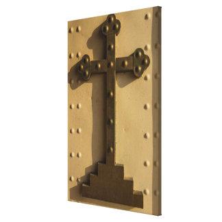 Christian religious cross, Iraq Canvas Print
