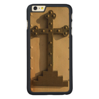 Christian religious cross, Iraq Carved Maple iPhone 6 Plus Case