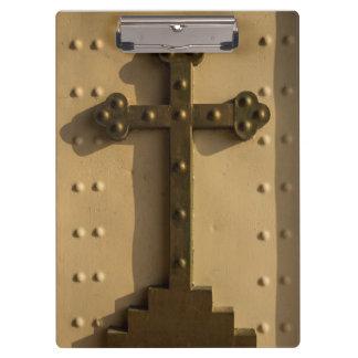 Christian religious cross, Iraq Clipboard
