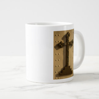 Christian religious cross, Iraq Large Coffee Mug