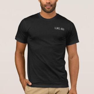 Christian Reminder LUKE 4:18 Black T-Shirt