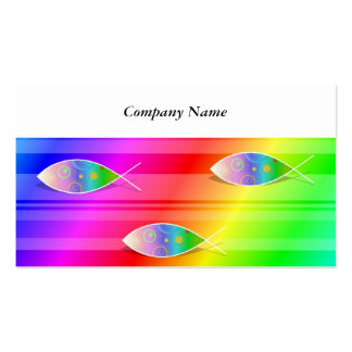 Christian Retro Fish, Pack Of Standard Business Cards