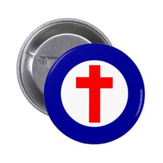 Christian Roundel 6 Cm Round Badge