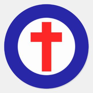 Christian Roundel Sticker