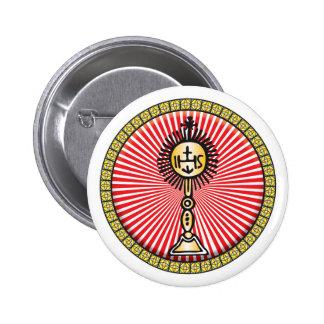 Christian Sacrament Icon Pin