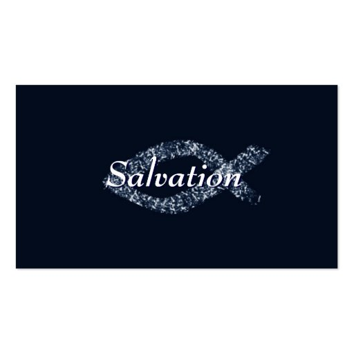 Christian Salvation Business Card