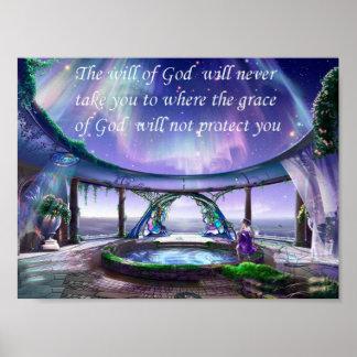 Christian Saying Poster