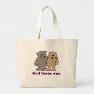 Christian Saying Tote Bag