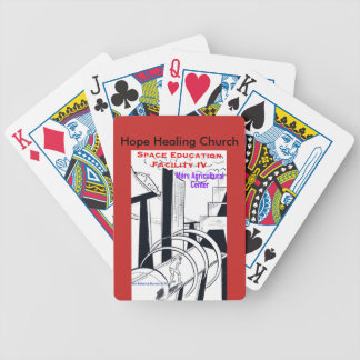 Christian Science Fiction Playing Poker Cards