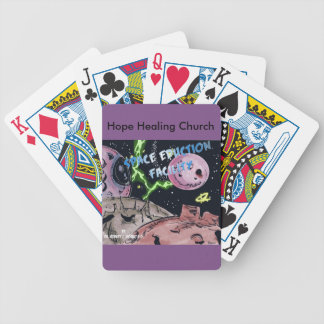 Christian Science Fiction Space Playing Cards