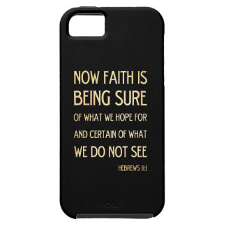 Christian Scriptural Bible Verse - Hebrew 11 :1 iPhone 5 Covers