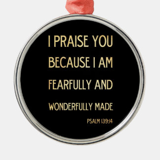Christian Scriptural Bible Verse - Psalm 134:19 Ornament