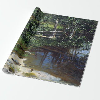 Christian Skredsvig The Tarn Wrapping Paper