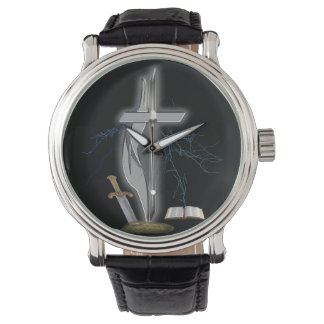 Christian soldier merchandise watch