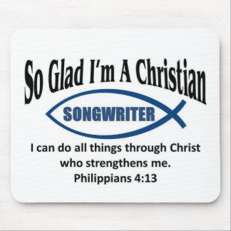 Christian songwriter mousepad