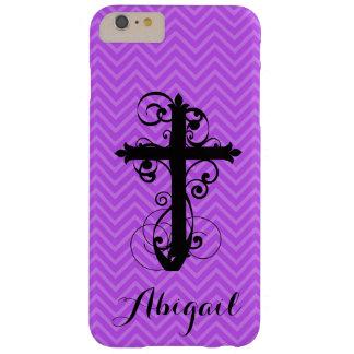 Christian Swirling Cross Custom iPhone Case