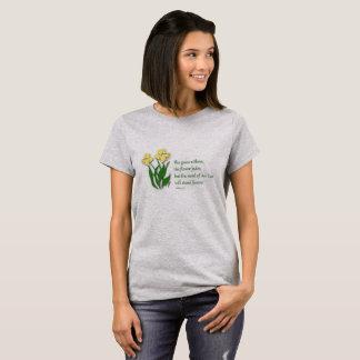Christian T-Shirt for Women - Isaiah 40:8