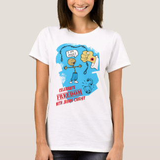 Christian T-shirt: Freedom in Christ T-Shirt
