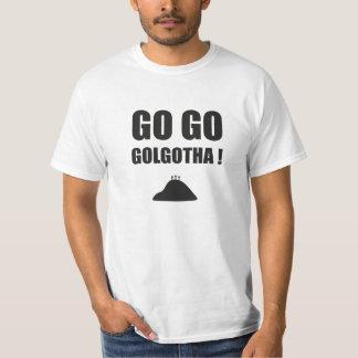 Christian tee-shirt - Go go Golgotha! T-Shirt