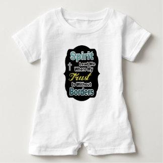 Christian Toddler Romper Baby Bodysuit
