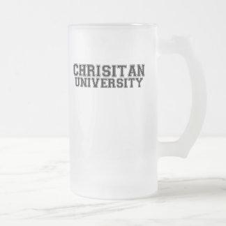 Christian University Mugs