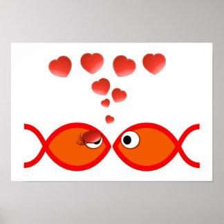 Christian Valentine Orange v2 Poster
