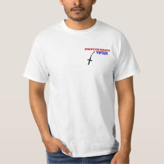 Christian voter pro life, pro family rosary tshirt