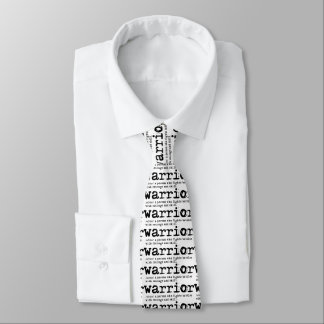 Christian Warrior Definition Tie