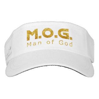 Christian Warrior Gold M.O.G. (Man of God) Visor