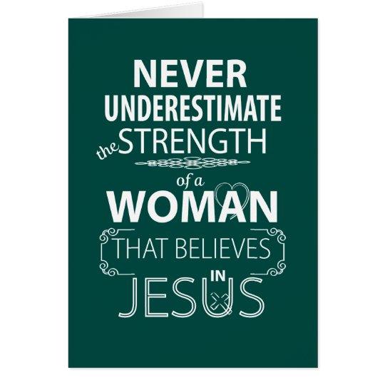 Christian Women Inspirational Cards Jesus