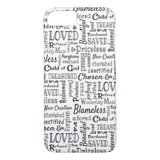 Christian Words of Affirmation iPhone 8/7 Case