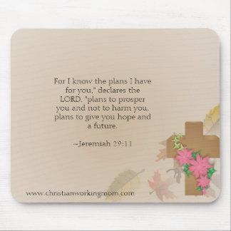 Christian Working Mom Jeremiah 29:11 Mousepad