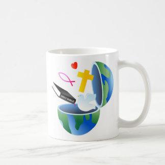 Christian World Basic White Mug