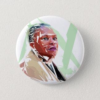 Christiane Taubira 6 Cm Round Badge