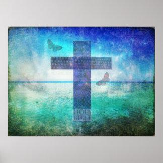 Christianity CROSS Meaningful Art Poster