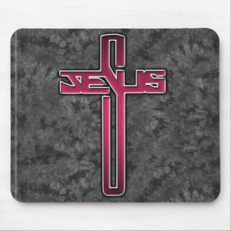 Christianity designs mouse pad