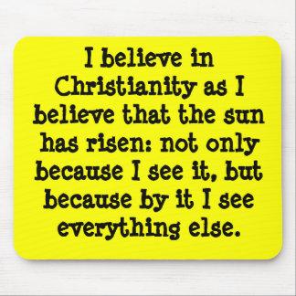 Christianity Mousepad