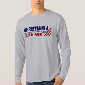 Christians for McCain Palin T-Shirt