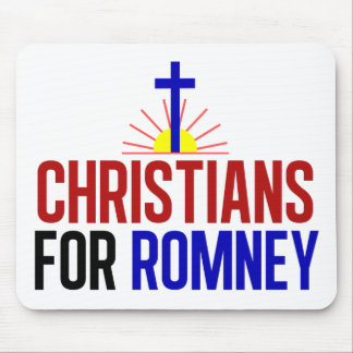 Christians for Romney Mouse Pad